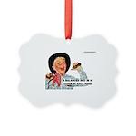 Vintage Balanced Diet Picture Ornament
