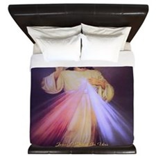 Divine Mercy Gold King Duvet