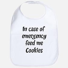 Feed me Cookies Bib