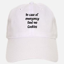 Feed me Cookies Baseball Baseball Cap