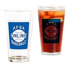 APBA Baseball Online Drinking Glass