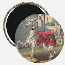 Vintage Greyhound Label Magnet