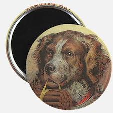 Vintage Label Ever Faithful Dog Magnet