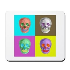 Skull Square Mousepad