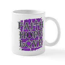 Epilepsy Faith Hope Love Mug