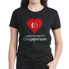Happily Married Singaporean Tee