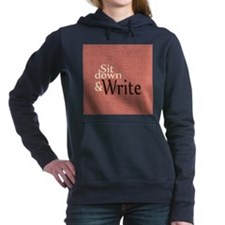 Sit Down Write Hooded Sweatshirt
