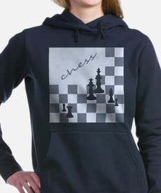 Chess King and Pieces Hooded Sweatshirt