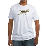 Light Scorpion Fitted T-Shirt