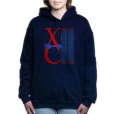 XC Run Royal Blue Hooded Sweatshirt