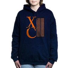 XC Run Orange Black Hooded Sweatshirt