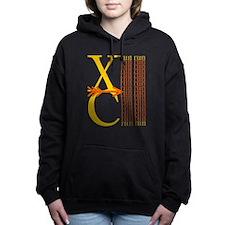 XC Run Yellow Orange Hooded Sweatshirt