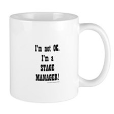 I am a Stage Manager for light products Mugs