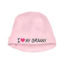 I Heart My Granny baby hat