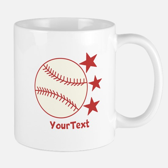 CUSTOMIZE Baseball Mugs - Right