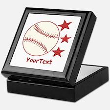 CUSTOMIZE Baseball Keepsake Box