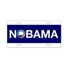 Nobama Aluminum License Plate