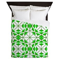 Eclectic Flower 349B Queen Duvet