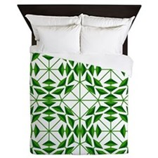 Eclectic Flower 351B Queen Duvet