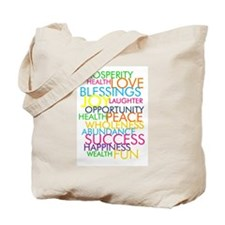 Bestest Wishes Tote Bag