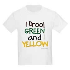GREEN and YELLOW (GB) T-Shirt