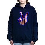 peacefingers01.png Hooded Sweatshirt