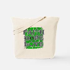 Cerebral Palsy Faith Hope Love Tote Bag