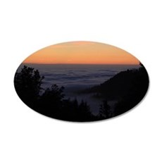 Sunset At Shelter Cove Wall Decal