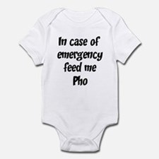 Feed me Pho Infant Bodysuit