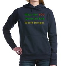 world_hunger01.png Hooded Sweatshirt