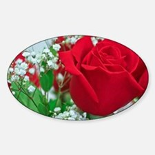 One Red Rose Decal