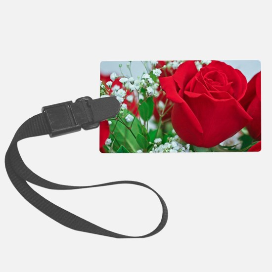 One Red Rose Luggage Tag