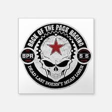 B-P-R Black Font Sticker