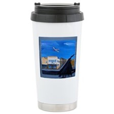 Turn Right at the Top of the Hill Travel Mug