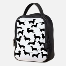 Dachshunds Neoprene Lunch Bag