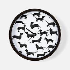 Dachshunds Wall Clock
