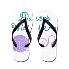 DancesWithYarnDark.png Flip Flops