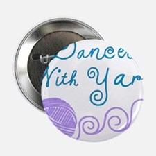 "DancesWithYarnDark.png 2.25"" Button"