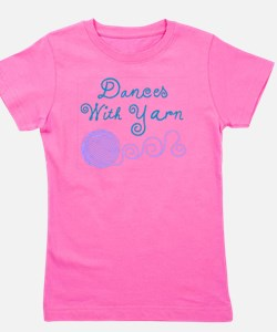 DancesWithYarnDark.png Girl's Tee