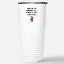 Do Not Disturb Neck Travel Mug