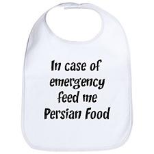 Feed me Persian Food Bib