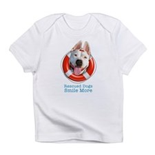 Rescued Dogs Smile More Infant T-Shirt