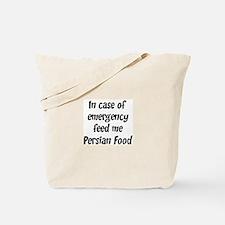 Feed me Persian Food Tote Bag