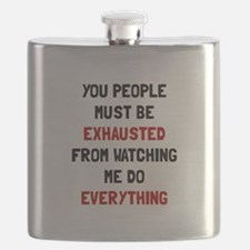 Exhausted Flask