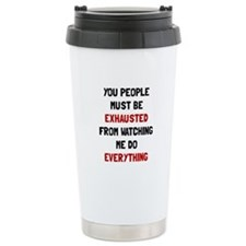 Exhausted Travel Mug