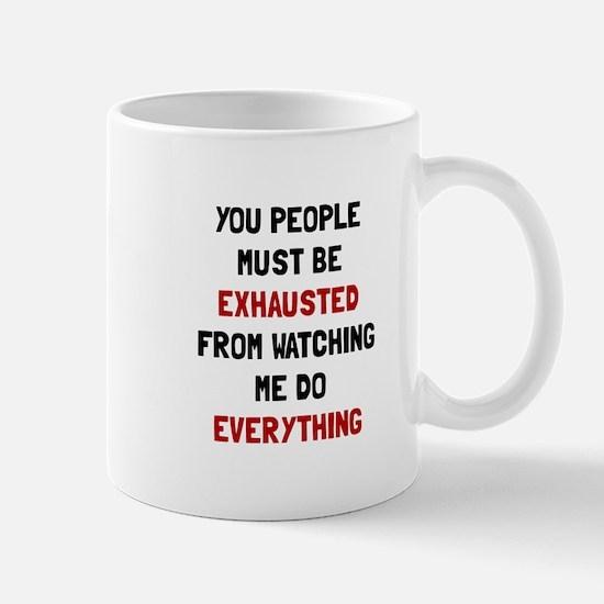 Exhausted Mugs