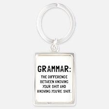 Grammar Shit Keychains