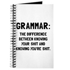 Grammar Shit Journal