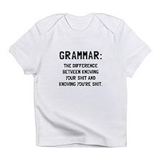 Grammar Shit Infant T-Shirt