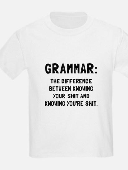 Grammar Shit T-Shirt